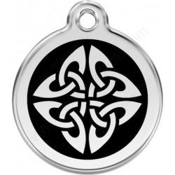 Médailles Identité Noir tatouage Celtique Chien ou Chat