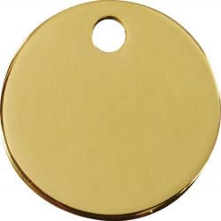 Les Médailles Identité de forme rondes pour Chiens Chats - 2 Couleurs