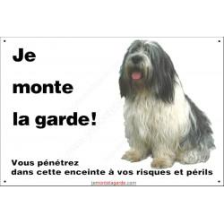 Plaque 24 cm ECO Je Monte la Garde, Nizinny