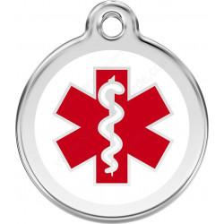Médaille identité urgence médicale santé pour Chiens et Chats diabète, épilepsie, allergie