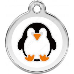 Médaille Identité Pingouin pour Chiens et Chats