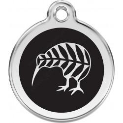 Médaille Identité Kiwi (oiseau) pour Chiens et Chats
