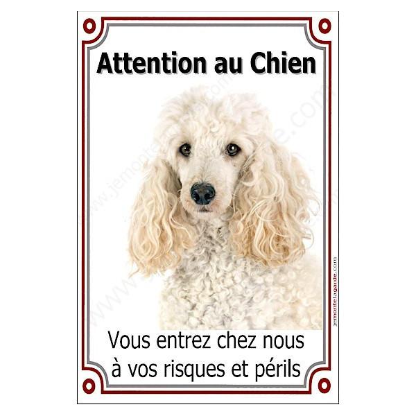 Chihuahua Poils Courts noir et feu Tête, Plaque Portail Attention au Chien verticale, risques périls, pancarte, affiche panneau