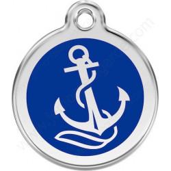 Les Médailles Ancre Marine Bleu Foncé
